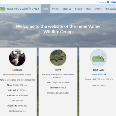 Teme Valley Wildlife Group